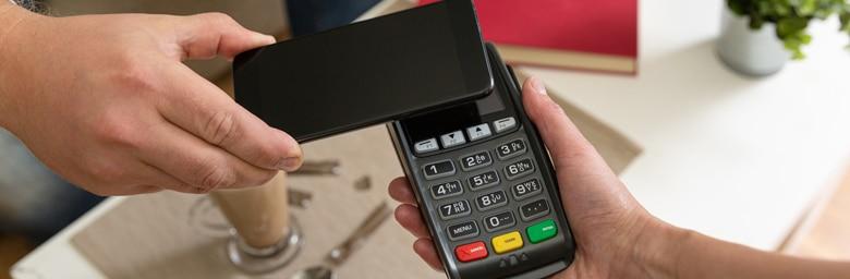 Conctactloos betalen met mobiele betaalterminal